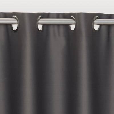 Tenda INSPIRE Oscurante grigio anelli 140x280 cm