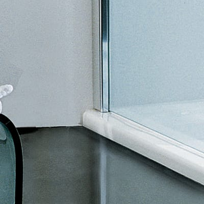 Doccia walk in L 140, H 193 cm, vetro 6 mm trasparente cromato