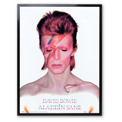 Stampa incorniciata David Bowie 30x40 cm