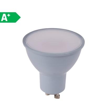 Lampadina LED GU10 riflettore bianco naturale 6W = 450LM (equiv 50W) 100° LEXMAN