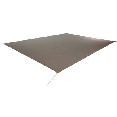 Vela ombreggiante rettangolare tortora 300 x 400 cm