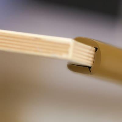 Paraspigolo Marrone, 1,7 x 300 cm in plastica / pvc Sp 60 mm
