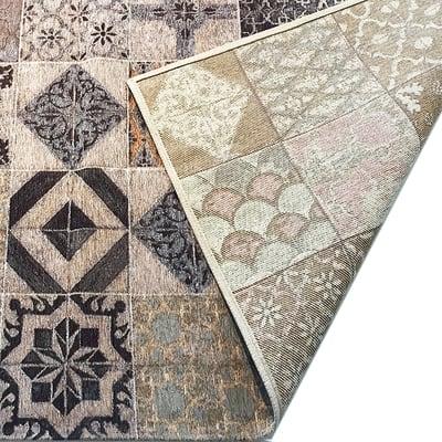 Tappeto Modern kilim multicolor 230x155 cm