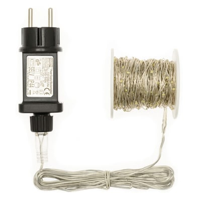 Catena luminosa 300 lampadine LED bianco freddo 2250 cm