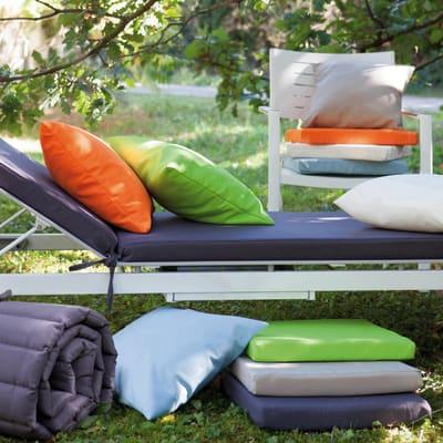 Cuscino per sedia o poltrona Lola ecru 43x43 cm
