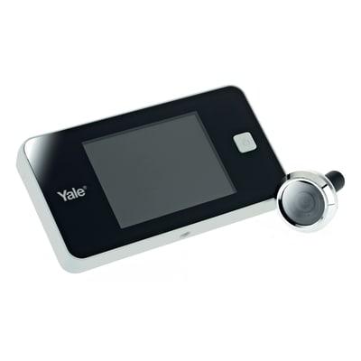 Spioncino digitale per porta blindata YALE Standard bianco