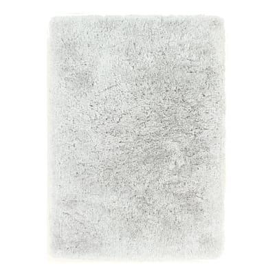 Tappeto Shaggy artic grigio 270x180 cm