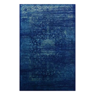 Tappeto Vintage blu 230x160 cm