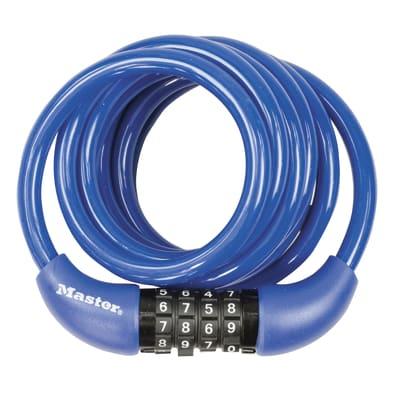 Cavo antifurto flessibile MASTER LOCK 8221EURDPROCOL in acciaio 1.8 m