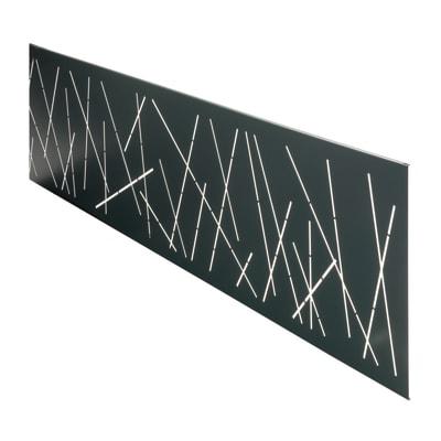 Inserto COMPOSITE PREMIUM Premium XL Design antracite 148.3 x 37 cm