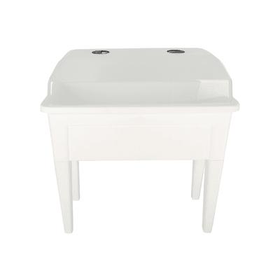 Fioriera per orto alta in polipropilene Venezia bianco L 100 x P 49.5 x H 90.5 cm