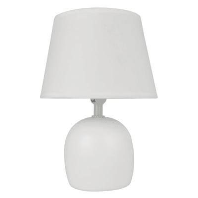 Lampada da tavolo Shabby Poki grigio, in ceramica, INSPIRE