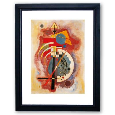 Stampa incorniciata Hommage 35x45 cm