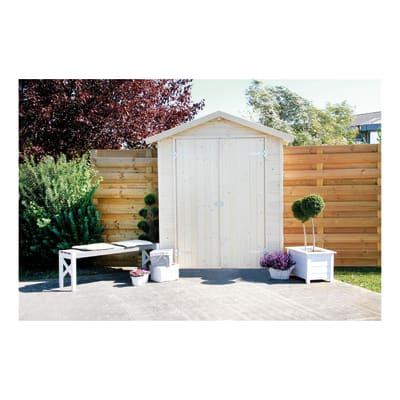 Casetta da giardino in legno Eger 1.66 m² spessore 14 mm