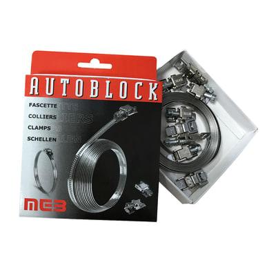 Fascetta metallica in metallo BM Autoblock 3000 x