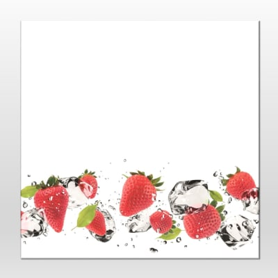 Lavagna Strawberry multicolor 28x28 cm