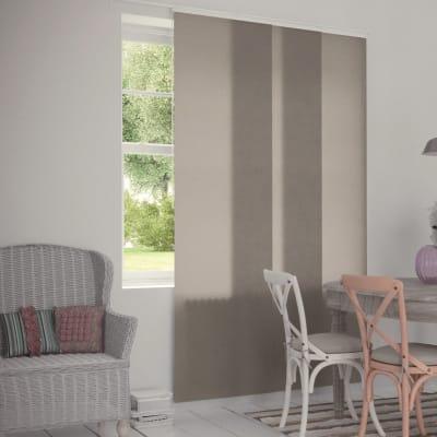 Pannello giapponese INSPIRE resinato Effetto Lino sabbia 60x300 cm