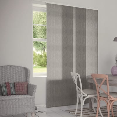 Pannello giapponese INSPIRE Melange grigio 60x300 cm