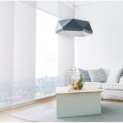 Pannello giapponese INSPIRE resinato Tamline bianco 60x300 cm