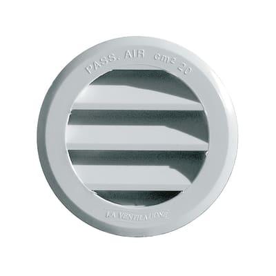 Griglia di aerazione in abs forma tondo Ø 8 cm