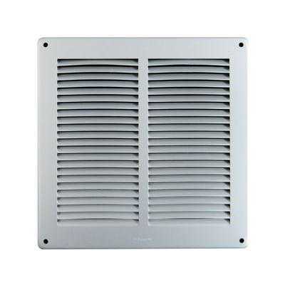 Griglia di aerazione in alluminio forma quadrato L 24 x H 24 cm