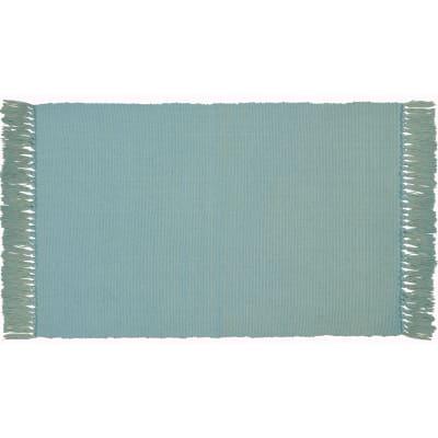 Tappeto Cucina Basic azzurro 50x80 cm