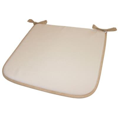 Cuscino per sedia Lastrina ecrù 38x38 cm