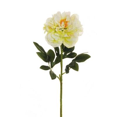 Fiore artificiale Peonia media H 66 cm