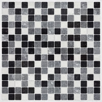 Sticker Sticker Decor Tiles Black & White 30x30 cm