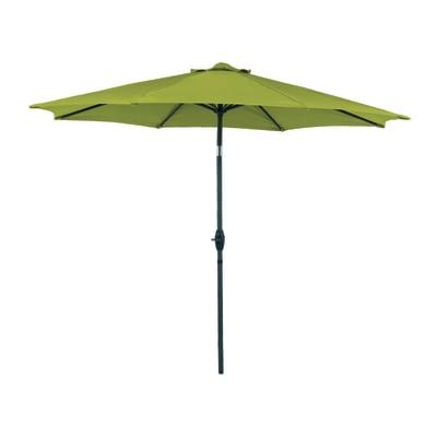 Ombrellone da patio NATERIAL Koeos L 0.14 x P 0.14 m color verde