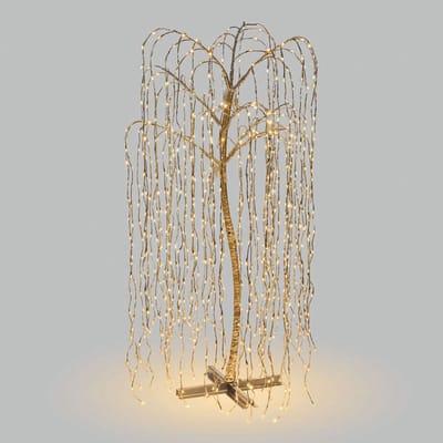 Albero 1024 lampadine bianco caldo H 200 cm
