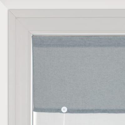 Tendina vetro Aurelia grigio tunnel 58 x 150 cm