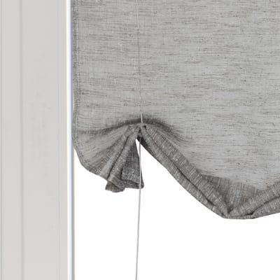 Tendina vetro Cambogia grigio tunnel 60x150 cm