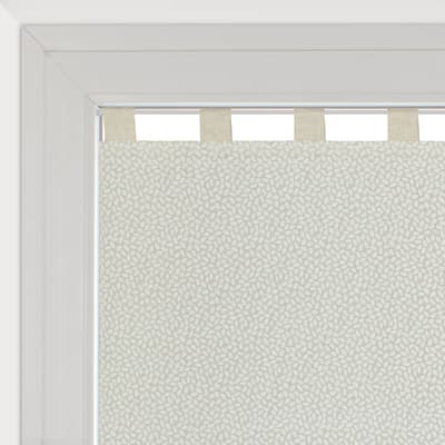 Tendina vetro Chicco ecru passanti nascosti 58 x 240 cm