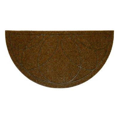 Zerbino in polipropilene marrone 40x75 cm