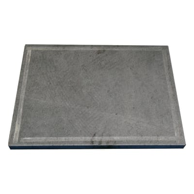 Pietra per barbecue in pietra ollare L 40 x P 30 cm