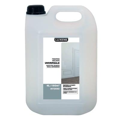 Fissativo LUXENS base acqua interno Isolante 4 L