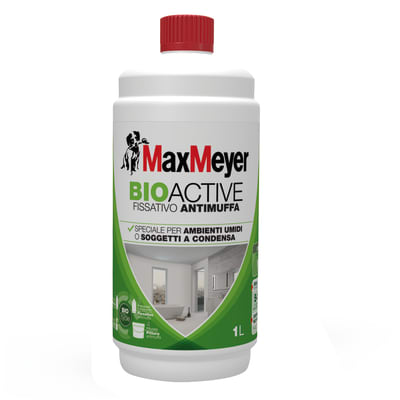 Fissativo MaxMeyer base acqua interno antimuffa Bioactive 1 L
