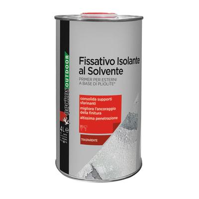 Fissativo base solvente interno / esterno solvente 4 L