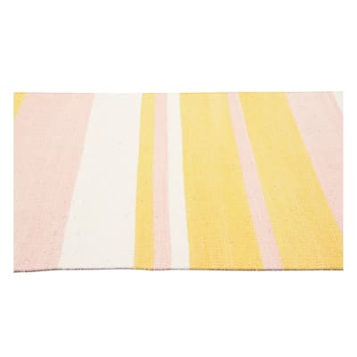 Tappeto Cucina Antibes rosa 180x55 cm