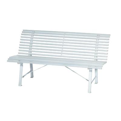 Panche Legno Leroy Merlin.Panca Park In Acciaio Colore Bianco 3 Prezzi E Offerte
