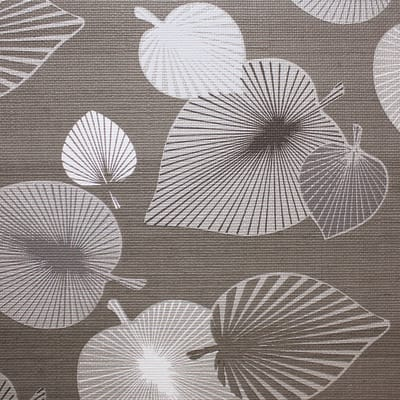 Tovaglia INSPIRE Foglie grigio 140x220 cm