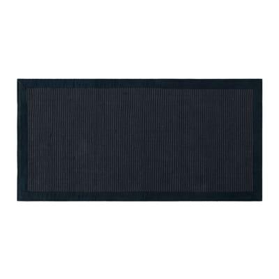 Tappeto Nevra grigio scuro 50x110 cm