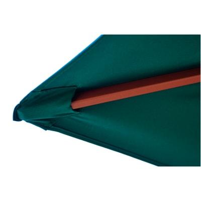 Ombrellone NATERIAL Kali L 3 x P 2 m verde