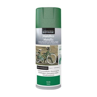 Smalto spray RUSTOLEUM verde metallizzato 0.0075 L