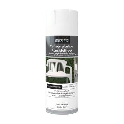 Smalto spray base solvente 0.0075 L bianco lucido