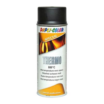 Smalto spray base solvente Thermo 0.0075 L nero opaco