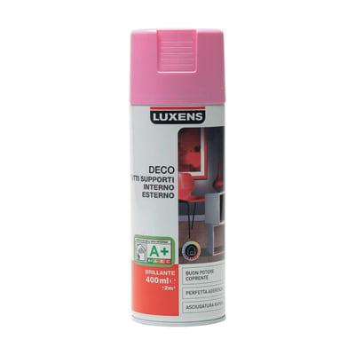 Smalto spray LUXENS Deco rosa shocking 5 lucido 0.0075 L
