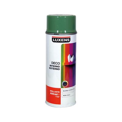 Smalto spray LUXENS Deco verde reseda lucido 0.0075 L
