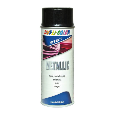 Smalto spray Metallic nero diamantato metallizzato 0.0075 L